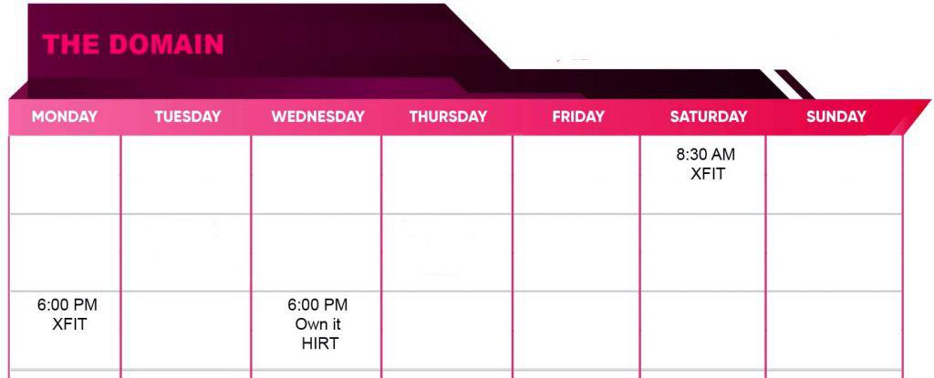 domain timetable