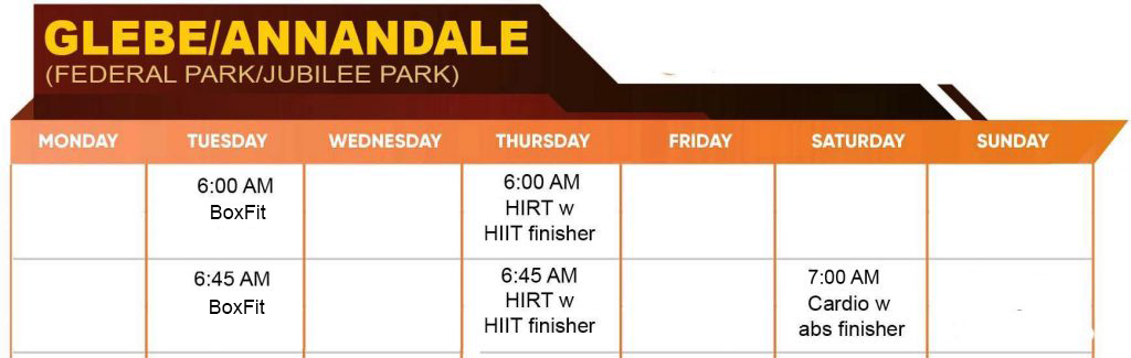 glebe-annadele-timetable